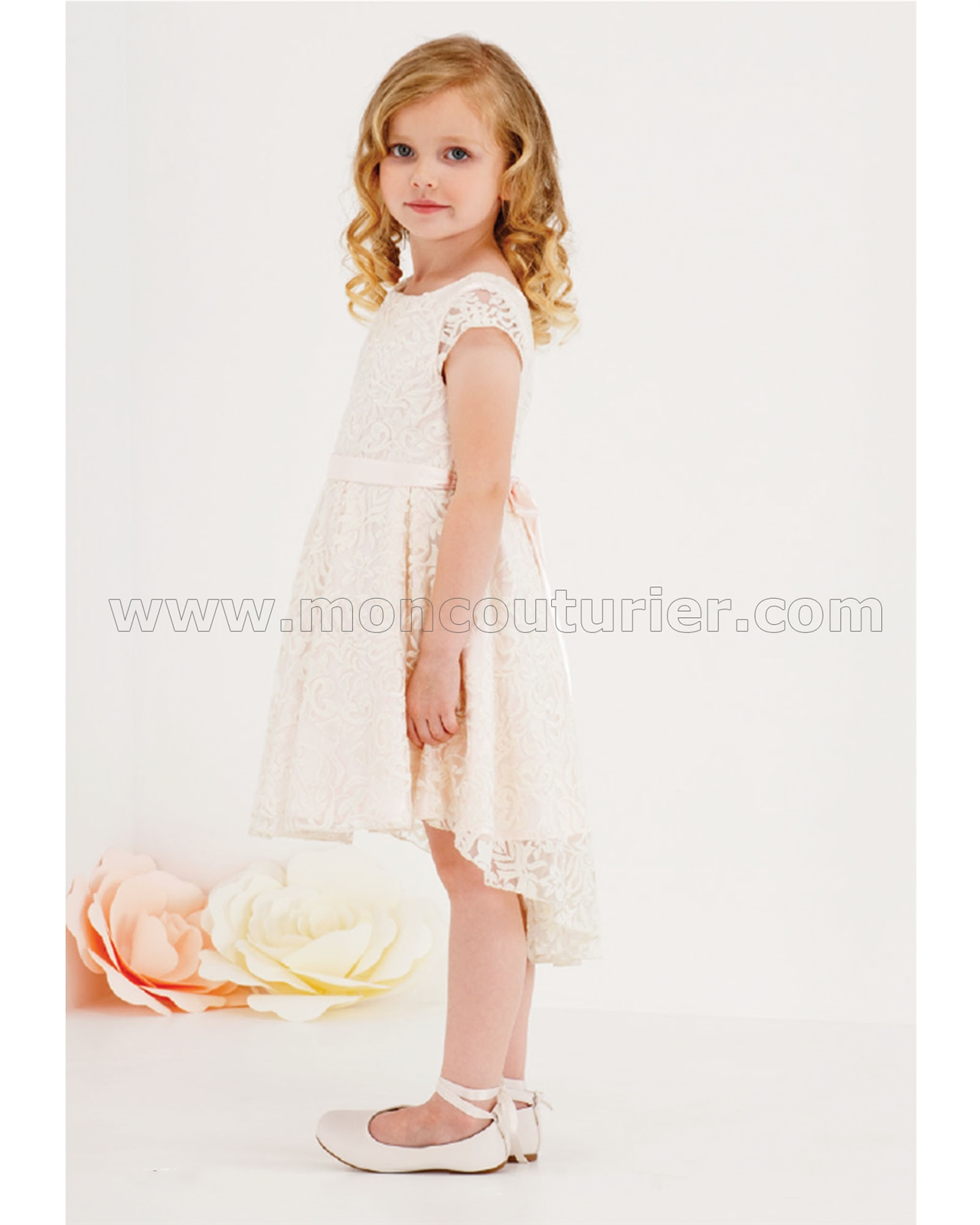 Biscotti Girls High-low Dress Fairest of All | Biscotti and Kate ...
