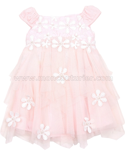 Biscotti Girls Tiered Dress Pick a Posy
