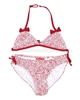 Kate Mack Red Bikini with Bows Regatta Roses