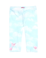 Kate Mack Leggings Butterfly Sky