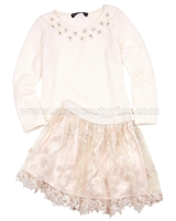 Biscotti Sweet Soiree Sweater and Skirt Set