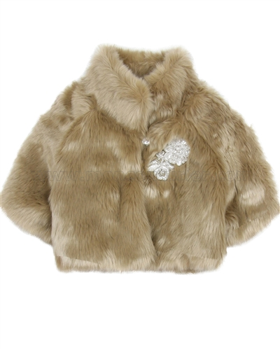 Biscotti Grand EntranceFaux Fur Jacket