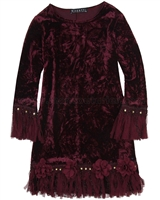 Biscotti Vintage Treasure Velvet Dress
