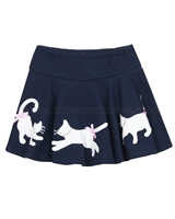Kate Mack Pretty Kitty Skirt with Cats