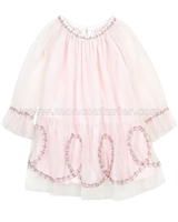 Kate Mack Rumba Roses Netting Dress