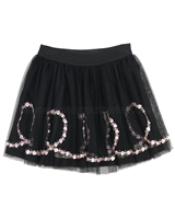 Kate Mack Rumba Roses Tulle Skirt