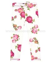 Kate Mack Taking Fight Floral Print Leggings