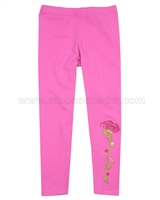 Kate Mack Taking Fight Solid Leggings Pink