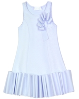 Biscotti Girls Ruffled Dress Runway Status Blue