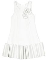Biscotti Girls Ruffled Dress Runway Status Ivory