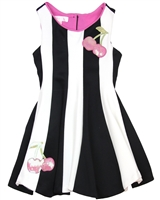 Biscotti Girls Dress with Cherries Runway Status