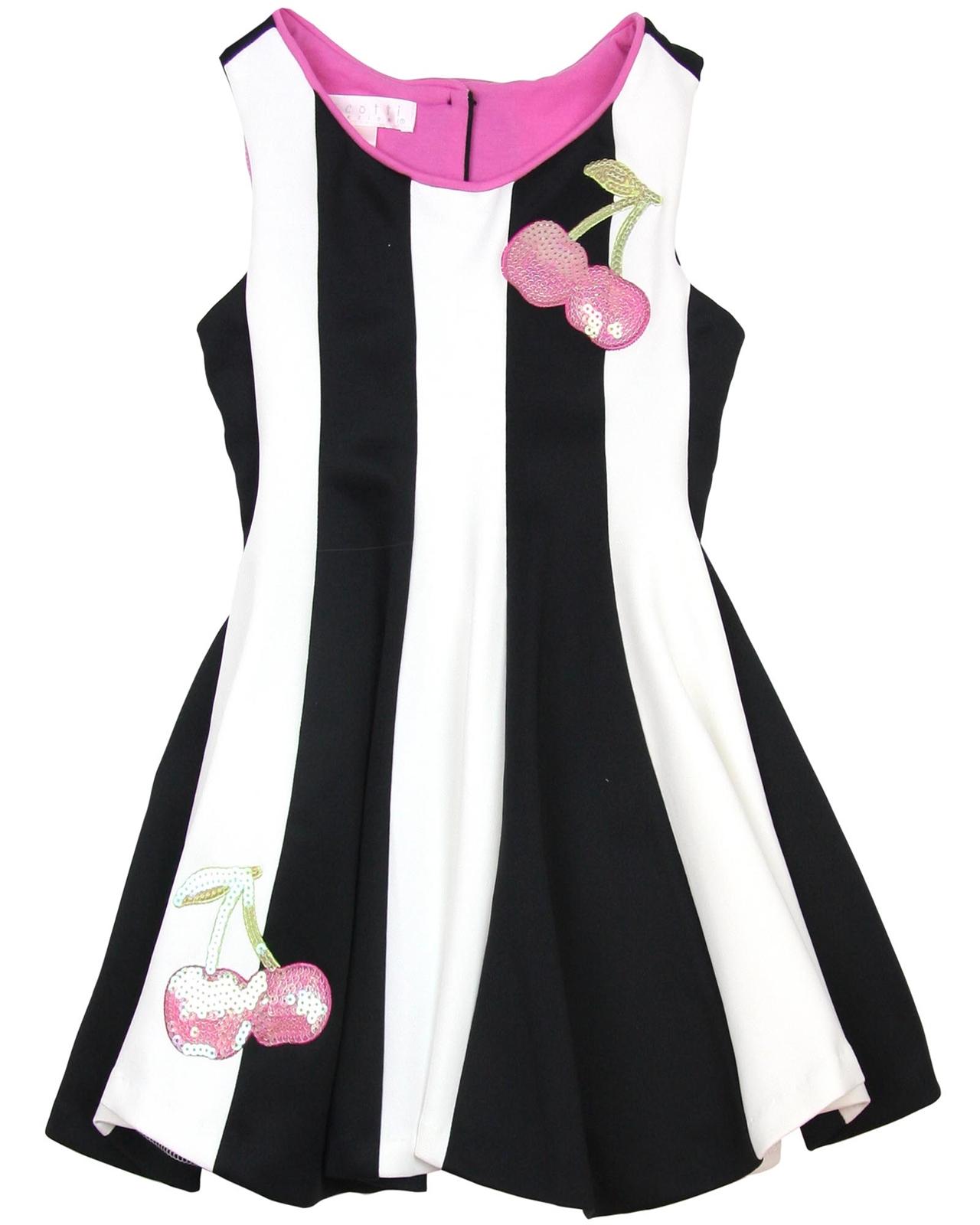 4e269afe4 Biscotti Girls Dress with Cherries Runway Status