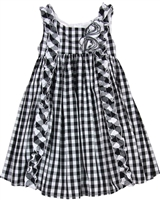 Biscotti Girls Sleeveless Dress Gingham Galore
