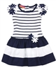 Kate Mack Girls Drop Waist Dress Daisies Crew