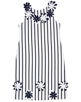 Kate Mack Girls Jersey Dress Daisies Crew