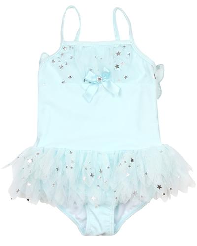 Kate Mack Girls Fairy Dance Rashguard /& Skirted Swim Bottom