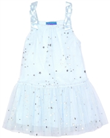 Kate Mack Girls' Tulle Dress  Fairy Dance Blue