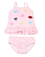 Kate Mack Little Girls' Two-piece Swimsuit Oodles of Doodles