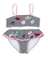 Kate Mack Girls' Skirted Swimsuit Oodels of Doodles