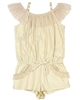Kate Mack Girls' Romper Good as Gold