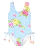 Kate Mack Girls' Swim Tank Garden Roses