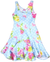 Kate Mack Girls' Twirling Dress Garden Roses