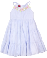 Kate Mack Girls' Tiered Dress Picnic Roses