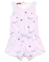 Kate Mack Girls' Romper Picnic Roses