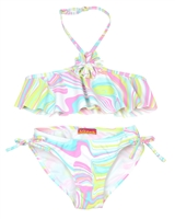 Kate Mack Girls' Bikini True Colours