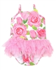 Kate Mack Little Girls' Skirted Swimsuit Rose Parfeit