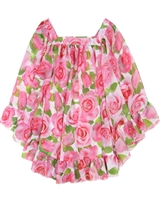 Kate Mack Girls' Swim Cover-up Rose Parfeit