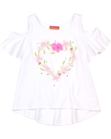 Kate Mack Girls' Top Rose Parfeit