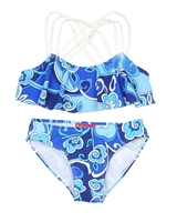 Kate Mack Girls' Bikini Ball Blues