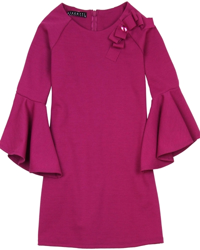 Biscotti Modern Beauty Dress with Bell Sleeves