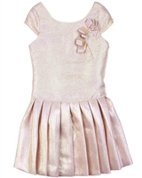 Biscotti Royal Princess Pleated dress in Pink