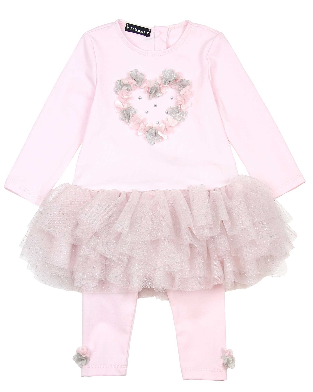 Kate Mack Little Girls Moon Tunic And Legging Set