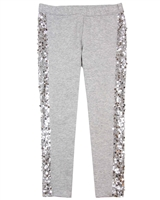 Kate Mack First Position Leggings with Laces in Gray