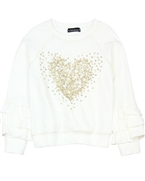 Kate Mack Melting Heart Sweatshirt