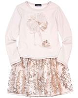 Kate Mack Royal Kingdom Dress with Sequin Skirt