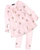 Kate Mack Moon and Stars Tunic and Leggings Set in Pink
