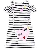 Biscotti Girls Face Time Striped Dress