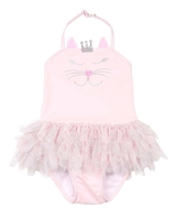 Kate Mack Girls Princess Party Skirted Swimsuit
