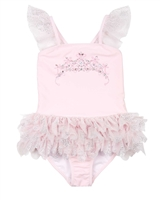 Kate Mack Girls Princess Party One-piece Swimsuit