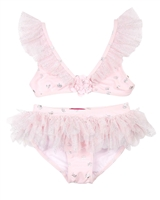 Kate Mack Girls Princess Party Bikini with Frills