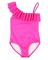Kate Mack Girls Make a Splash Swimsuit in Pink
