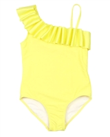 Kate Mack Girls Make a Splash Swimsuit in Yellow