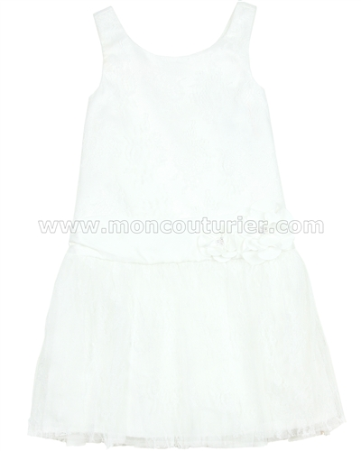 Biscotti Girls Creme de la Creme Drop Waist Dress