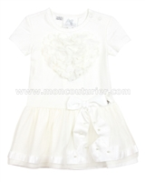 Le Chic Baby Girl Dress with Heart