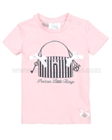 Le Chic Baby Girl T-shirt with a Print