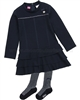 Le Chic Baby Girl Ruffled Dress with Tights